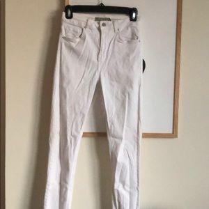 Jamie Topshop Moto White Jean